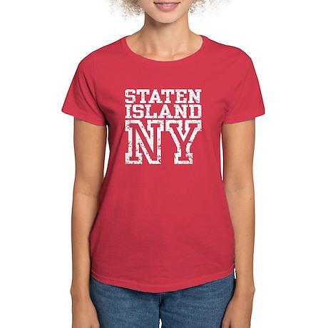 Staten Island NY Women's Dark T-Shirt
