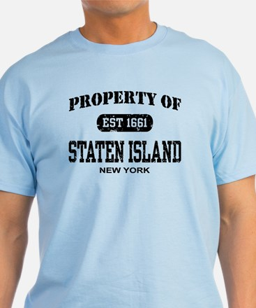 Staten island gifts merchandise staten island gift ideas property of staten island t shirt negle Images