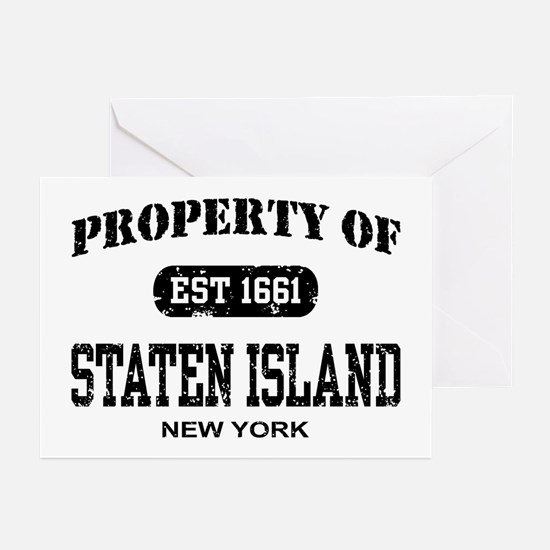 Property of Staten Island Greeting Cards (Pk of 10