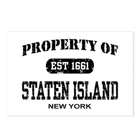 Property of Staten Island Postcards (Package of 8)