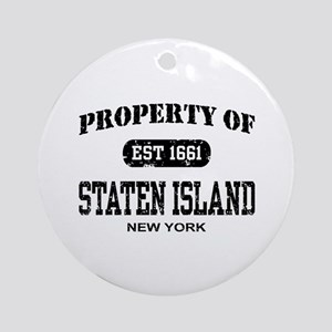 Property of Staten Island Ornament (Round)