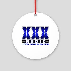 Hard Core Medic Ornament (Round)