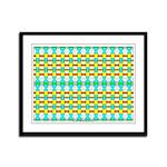 Ionic Art 00 Framed Panel Print
