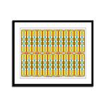 Ionic Art 01 Framed Panel Print