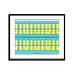 Ionic Art 04 Framed Panel Print