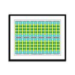 Ionic Art 05 Framed Panel Print