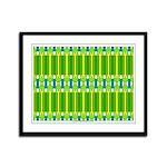 Ionic Art 06 Framed Panel Print