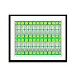Ionic Art 08 Framed Panel Print