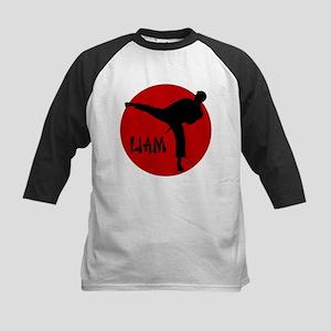 Liam Martial Arts Kids Baseball Jersey