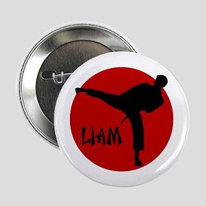 """Liam Martial Arts 2.25"""" Button"""