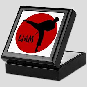Liam Martial Arts Keepsake Box
