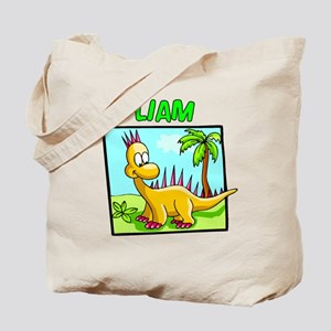 Liam Dinosaur Tote Bag