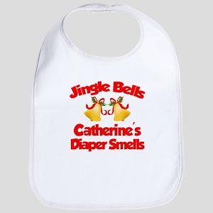Catherine - Jingle Bells Bib