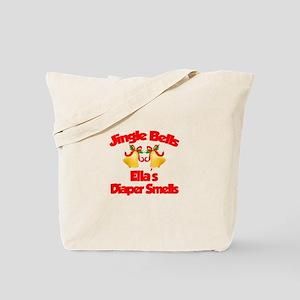 Ella - Jingle Bells Tote Bag