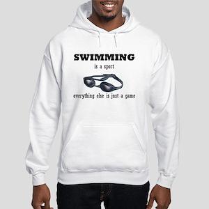 Swimming is a Sport Hooded Sweatshirt