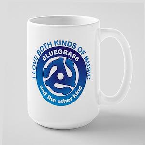 LOVE BLUEGRASS MUSIC Large Mug
