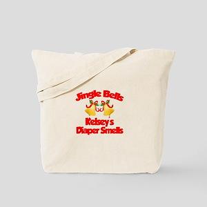 Kelsey - Jingle Bells Tote Bag