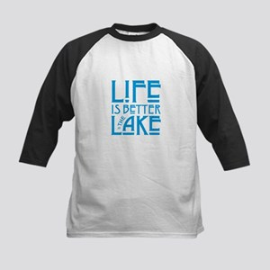 Life is Better at the Lake Baseball Jersey