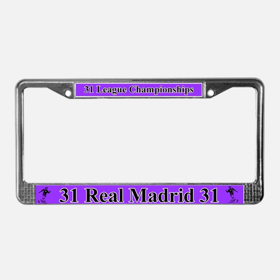 Real Madrid License Plate Frame