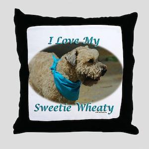 Sweetie Wheaty Throw Pillow