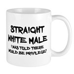 Straight White Male Mugs