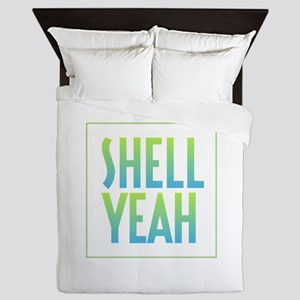 Shell Yeah Queen Duvet
