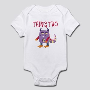 Thing Two Infant Bodysuit for Twins