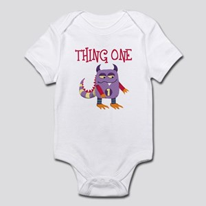 Thing One Infant Bodysuit for Twins