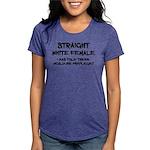 Straight White Female T-Shirt