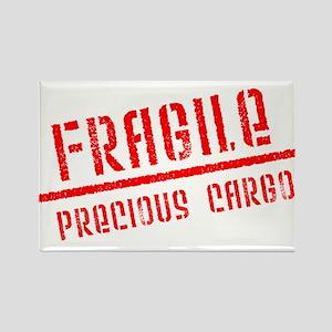 Fragile/Precious Cargo Rectangle Magnet