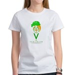 V for Veganism Mask T-Shirt