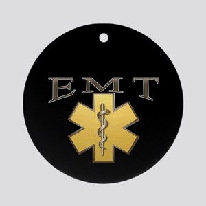 EMT(Gold) Ornament (Round)