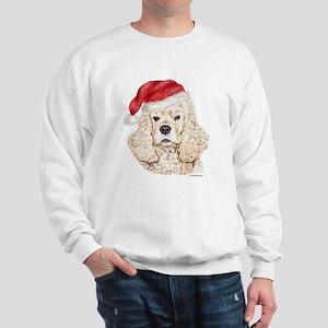 Christmas American Cocker Spaniel Sweatshirt