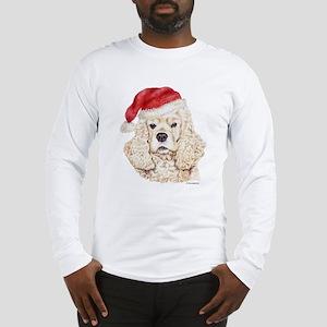 Christmas American Cocker Spaniel Long Sleeve T-Sh