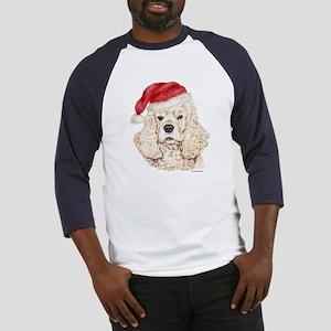 Christmas American Cocker Spaniel Baseball Jersey