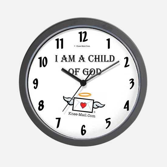 I Am A Child of GOD Wall Clock