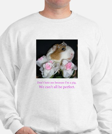 Funny Princess pig Sweatshirt