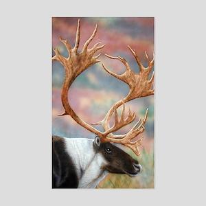Caribou Rectangle Sticker