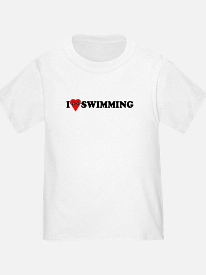 I Love Swimming T