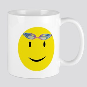 Swimmer Smiley Mug
