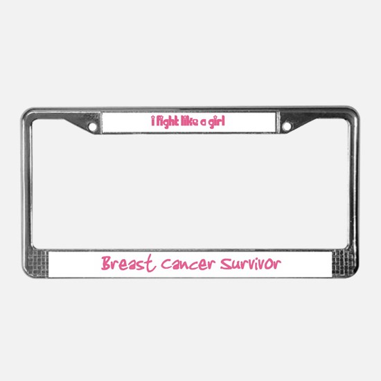 License Plate Frame - Show your stuff, girl