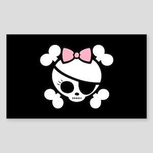 Molly Bow VII Rectangle Sticker