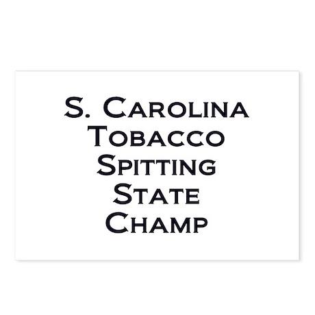 S Carolina Tob Spit Champ Postcards (Package of 8)