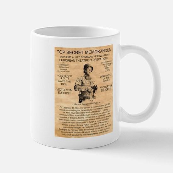 General George Patton Mug