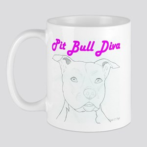 Pit Bull Diva  Mug