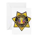 Security Enforcement Greeting Cards (Pk of 20)