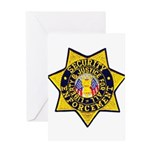 Security Enforcement Greeting Card