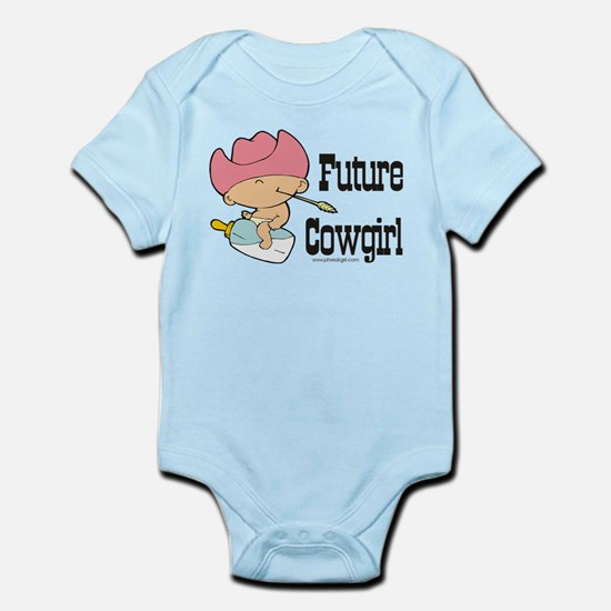 Future Cowgirl Infant Bodysuit
