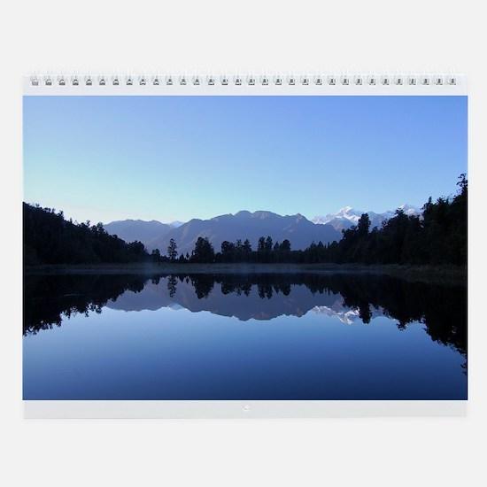 Beautiful New Zealand Wall Calendar