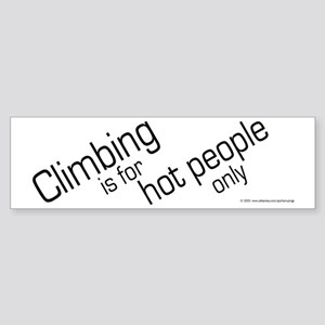Hot Climbers Bumper Sticker